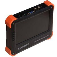 "7"" AHD camera tester CCTV tester monitor HD 1080P AHD analog camera testing VGA HDMI input 12V2A out"