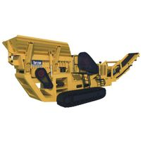 Widely used crawler mobile tracked crusher machine for stone crushing line