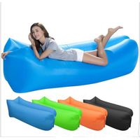 Inflatable sofa bed waterproof light sleeping bag Camping portable air Nylon bed adult beach lounge