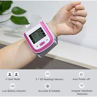 Heshun LCD screen automatic digital wrist blood pressure monitor thumbnail image