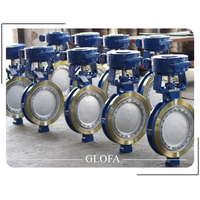 A351 CF8M HIGH PERFORMANCE DOUBLE OFFSET BUTTERFLY VALVE thumbnail image