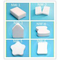 melamine sponge//magic eraser//new type scouring pad