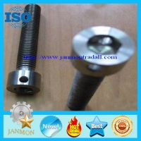 Customized Special Hex Head Socket Bolt With Hole(as drawing),Colored thumbnail image