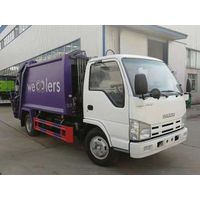 Sinotruck HOWO 8CBM RHD Garbage Compactor Truck Compressed Waste Truck with Chaochai Engine thumbnail image