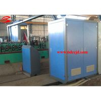 steel pipe tube induction welding machine