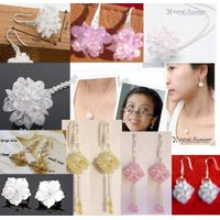 Crystal jewelry beads necklace Earring bracelets brooches beaded bags beads and shoes beads cha bead thumbnail image