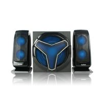 Home theatre 2.1 speaker with Bluetooth and remote control and LED