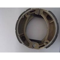 motorcycle spare part type white brake shoe