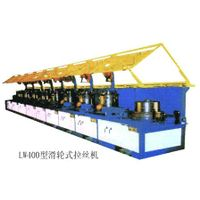 LW400 pulley type wire drawing machine
