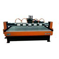 JD 2015-6 Multi-heads Woodworking Engraving Machine