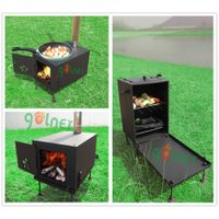 multifunctional camping stove/bbq stove