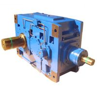 H/B heavy duty parallel shaft right angle 90 degree industrial gearbox speed reducer