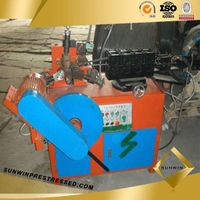 Round Metal Corrugated Duct Making Machine