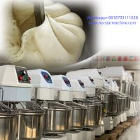 Commercial bakery bread making machine 80kg spiral mixer