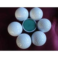 two piece range golf ball