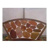 Natural Big Sliced Pebble Mosaic Pattern