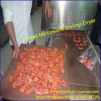 Tunnel Microwave Shrimp Dryer