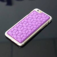 New style factory supply leather TPU 2 in 1 cheap mobile phone holder