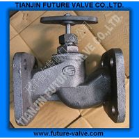 GOST PN16 Square Flanged End Globe / Stop Valve thumbnail image