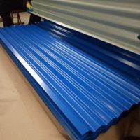 Prepainted Galvanized Iron Roofing Sheet/ PPGI/GL Corrugated Steel Sheet For Sale