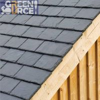 Durable natural slate eco-friendly roofing slates