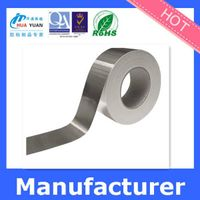 black aluminum tape With water based pressure sensitive as binder