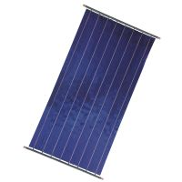 Easy To Install Rooftop Flat Plate Solar Hot Water Heater Collector thumbnail image