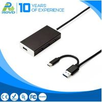 4 USB 3.0 5 Gbps Maximum speed Output 4 port usb hub