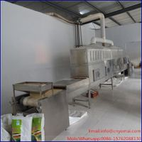 Continuous Sesame Seed Roasting Machine, Seeds Roaster, Grain Sterilizer