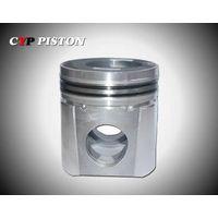 Aluminum alloy piston
