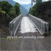 Military customize steel structure low price 200 type bailey bridges