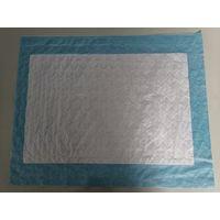 Disposable examination bed pad