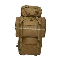 65L Mountaineering Camping Backpack With Oxford Fabric