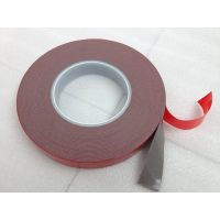 3M Euivalent Automobile Building Industry Strong Bonding Red Liner Double Sided Grey VHB Tape thumbnail image