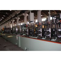 Stainless steel industrial pipe making machine for used