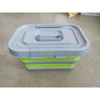 collapsible storage box with handle(medium)