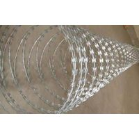 Hot-Dipped Galvanized Concertina Razor Wire (BTO-22, BTO-30) thumbnail image