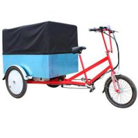 SLS-E0008 short distance goods&cargo delivery vehicle tricycle for transportation