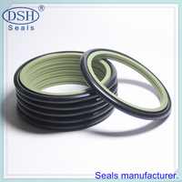 Rotary piston seal ring