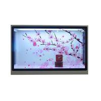 Xinyan Transparent interactive LCD Screen display box 43 inch