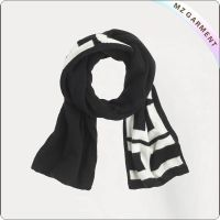Boys Black & White Scarves