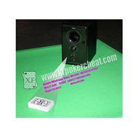 Bar Codes Edge Marked Playing Cards Audio Hi-Fi Plastic Black Music Box Camera thumbnail image