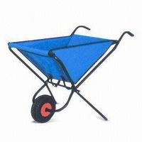 Steel-framed Foldable Tool Cart, Ideal for All Lightweight Gardening Tasks