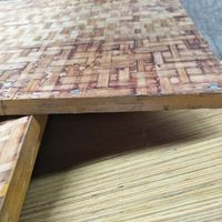 Moso Bamboo Made Durable Pallet for concrete block machine wood pallet