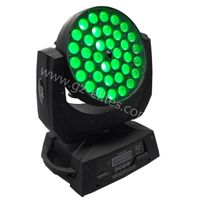 36*10W RGBW 4in1 Moving Head Zoom+Wash LED Light