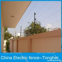 Garden/house/factory/villa pulse high voltage electric fencing projects