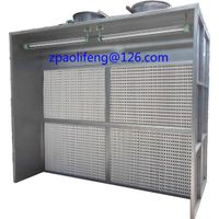 paint booth/dry filter spray booth/open face spray booth