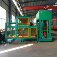 DM10 -15 Automatic hydraulic unburned brick block making machine thumbnail image