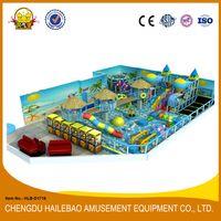 HLB-D1716 Children Indoor Adventure Park Large Ball Pool for Kids thumbnail image