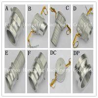 Aluminum quick coupling